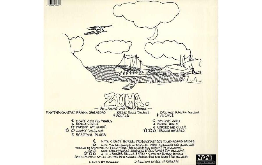 Neil Young Zuma Rock
